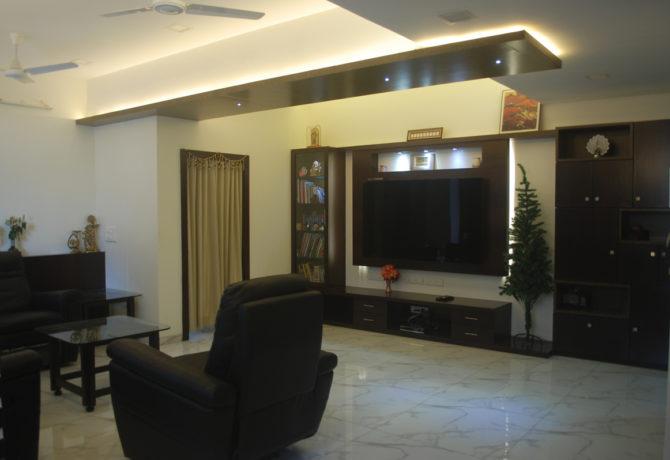 Amit Laghate_Residential interior design__Living Room design_01