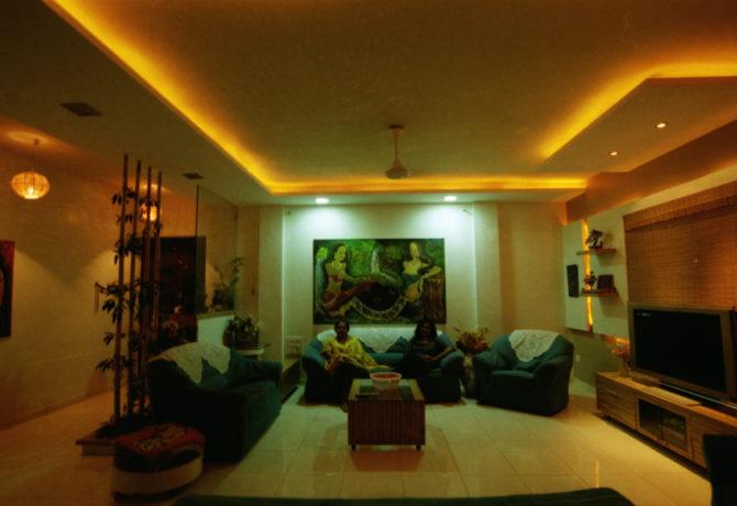 Amit Laghate_Residential interior design__Living Room design_02