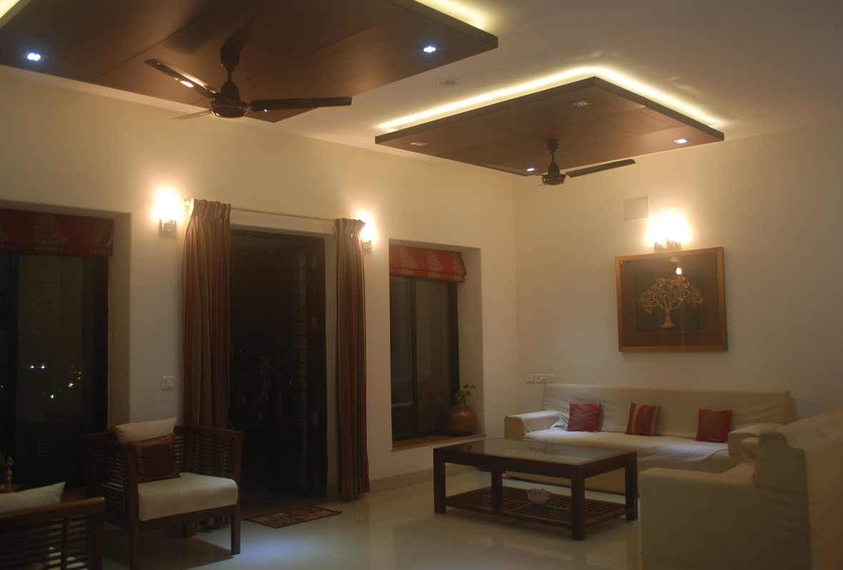 Amit Laghate_Residential interior design__Living Room design_03